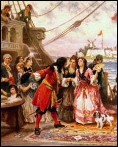Captain Kidd in New York Harbor by J.L.G. Ferris